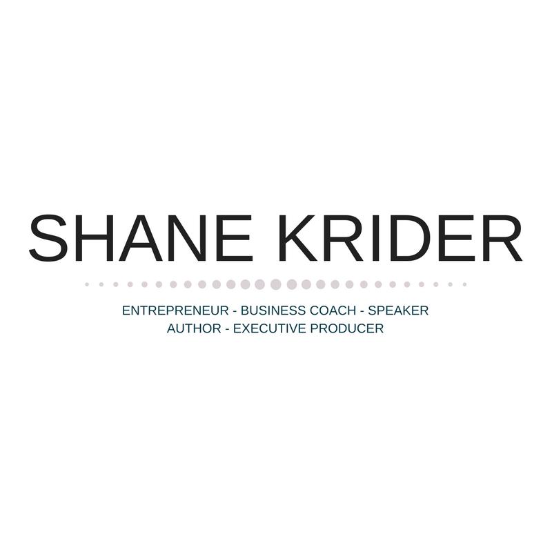 Shane Krider | Personal Development